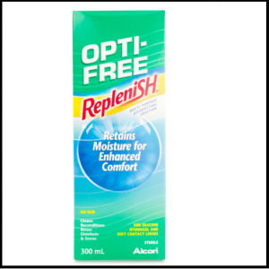 Opti-free replenish lens solution 300 ml