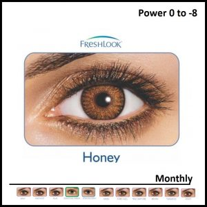 Freshlook Colored Lens Honey