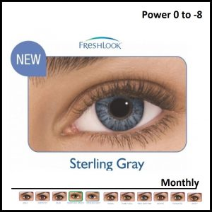 Freshlook ColoredLens Sterling Grey