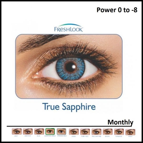 Freshlook Colored Lens True Saphire